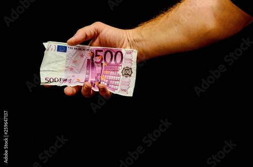 Fotografia  European Euro Money Banknote