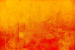 canvas print picture - Background orange ancient wall
