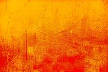 Background Orange Ancient Wall