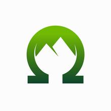 Omega Mountain Logo