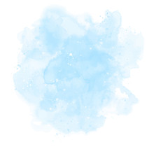 Blue Watercolor Background. Ab...