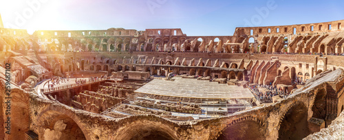 Fotomural Roman Colosseum, Rome, Italy