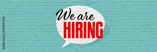 Fototapety, obrazy: We are hiring