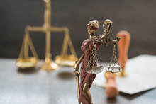 Law And Justice Concept Image,...