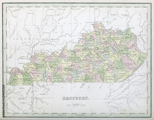 Photo  Retro map