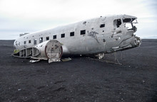 Wreckage Of Crashed Airplane D...