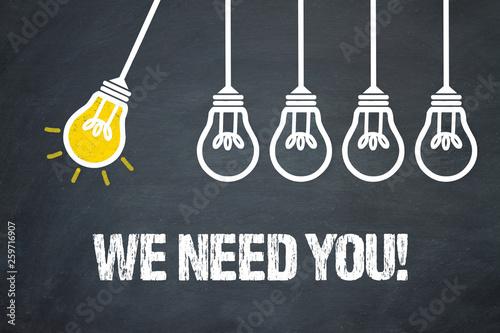 Fotografía We need you!