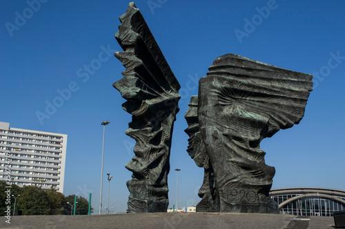 Fototapeta Pomnik Powstańców Śląskich Katowice obraz
