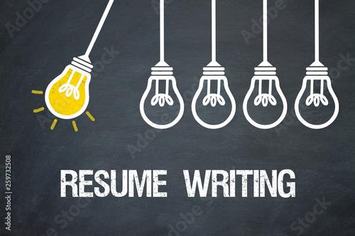 Fotografie, Obraz  Resume Writing