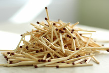 Matches Piled Up, The Risk Of ...
