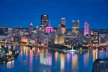 Pittsburgh & Blue Hour