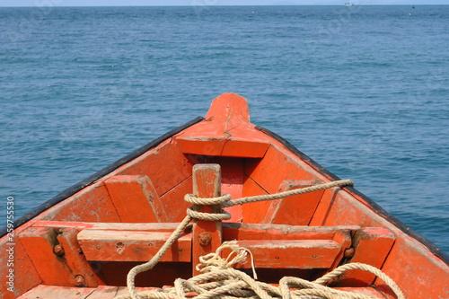 Foto  Proue de bateau au soleil