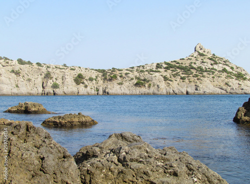 Photo  Amazing view to natural. The Black Sea Crimea