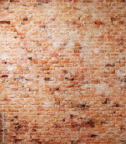 Okleiny na drzwi cegła  red-old-brick-wall