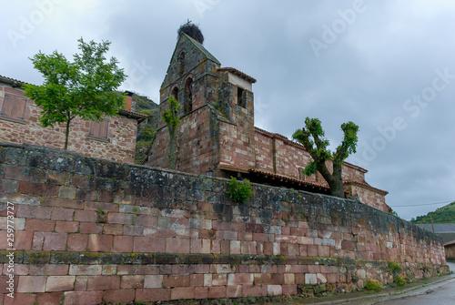Spain. Church of San Martin in Muda. Palencia