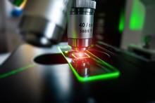 Microscope With Microscope Sli...