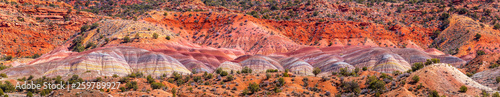 Foto auf Gartenposter Koralle Colorful Canyons in Utah and Arizona