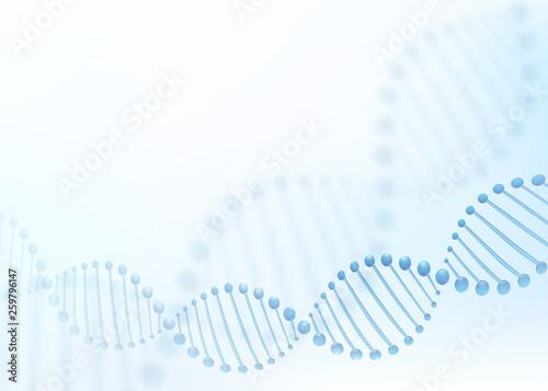 Cuadros en Lienzo DNA chromosome concept