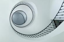 Modern Spiral Stairs Indoors