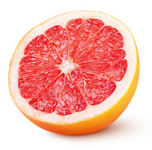 Half Grapefruit Citrus Fruit I...