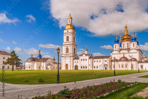 Fotografie, Obraz  View of the churches of the Tobolsk Kremlin.Tyumen region.Russia