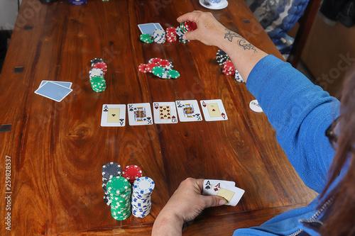 Photo Poker texas