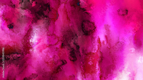 Pink and Black Watercolor Texture