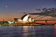 canvas print picture - Opera House Sydney Australia