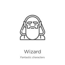 Wizard Icon Vector From Fantas...