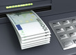 Withdrawal European Euro From The ATM