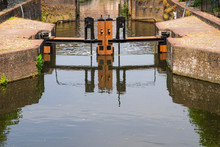 Sluice At Spui, Canal In Amersfoort, The Netherlands