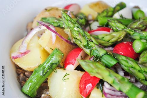 Fototapeta Szparagi i warzywa obraz