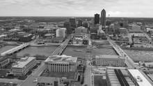 Aeiral View Iowa State Capital...