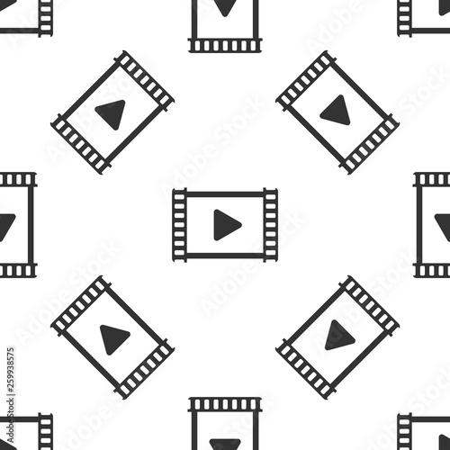 szary-grac-wideo-ikona-na-bialym-tle-wzor-na-bialym-tle-tasma-filmowa-ze-znakiem-zabaw-ilustracja-wektorowa