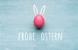 canvas print picture - Frohe Ostern