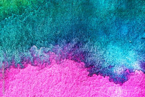 Fotografija  Color pastel splashes Sample Surface for your design