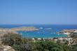 Lindos city and its coast