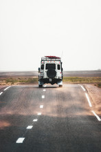 On The Road To Merzouga, Car T...