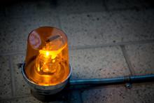 Emergency Orange Alert Light C...