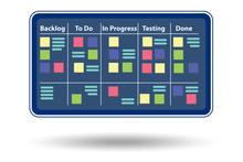 Illustration Of Agile Method C...