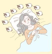 Women Have Insomnia, Have Dark...