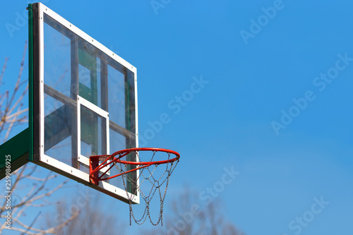 Fotografiet basketball hoop outdoor