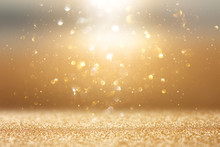 Photo Of Gold And Silver Glitter Lights Background