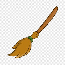Halloween Accessory Broom Icon...