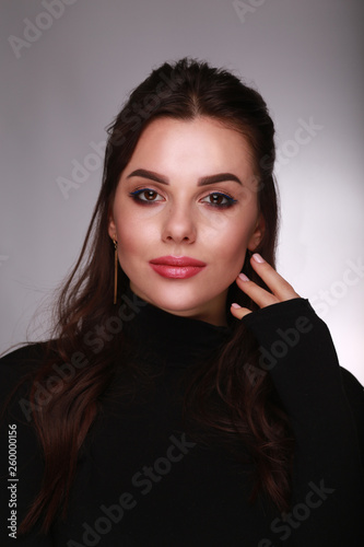 Fotobehang womenART woman make up
