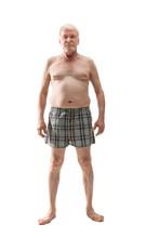 Elderly Naked Man