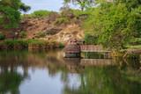 Fototapeta Sawanna - Mzima Springs Tsavo West Kenya