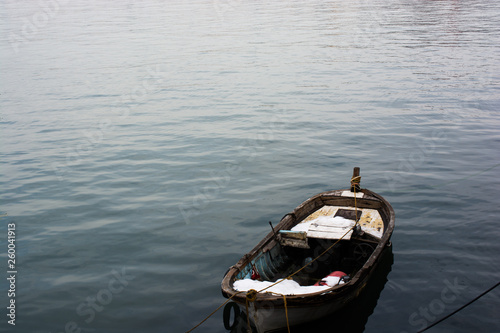 Photo Fishing boat in the waters of sea