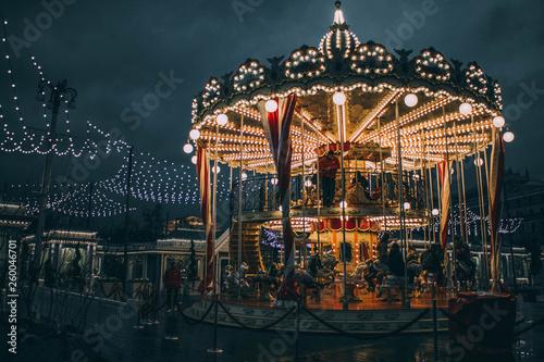Tablou Canvas Ferris wheel