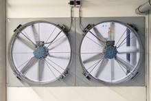 Large Fan For Ventilation Unde...